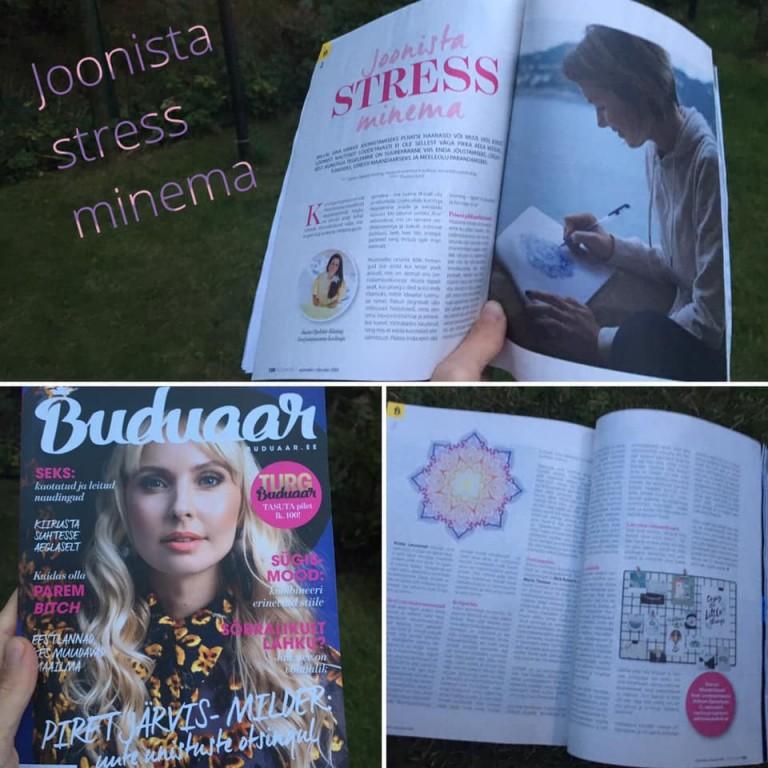 Artikkel: Joonista stress minema!